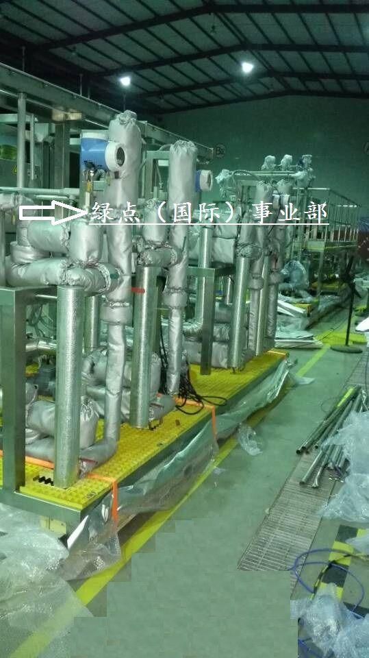 电伴热管路可拆卸保温施工