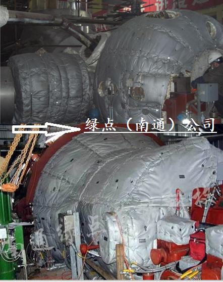 供应汽轮机燃机可拆卸保温被