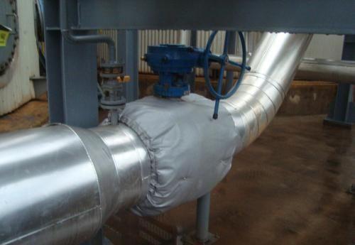 电伴热管路可拆卸保温衣