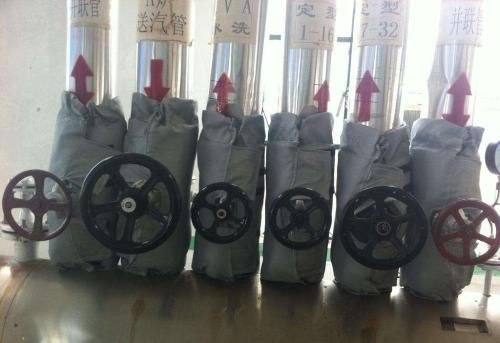 排气管可拆卸保温套