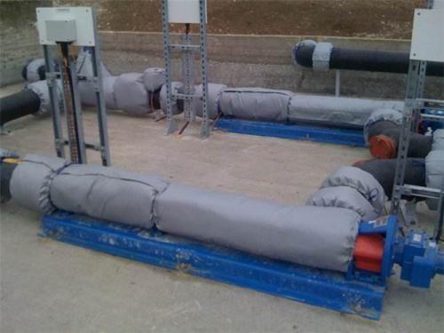 排气管可拆卸式保温套