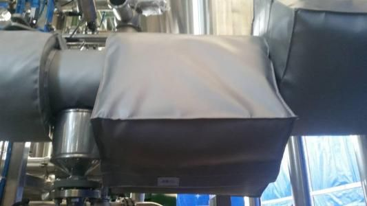 制药设备可拆卸式保温衣