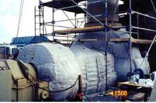 制药设备可拆卸式保温被