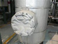 排气管可拆卸保温被