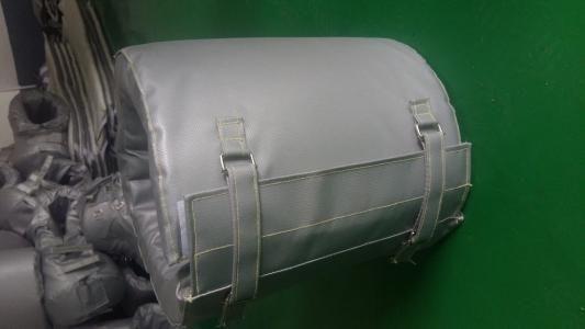 制药设备绝热可拆卸保温衣