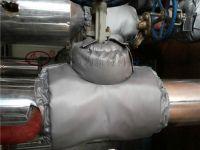 空压机可拆卸保温套