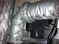 排气管可拆卸式保温衣