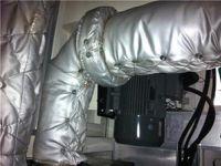 空压机可拆卸式保温套定制
